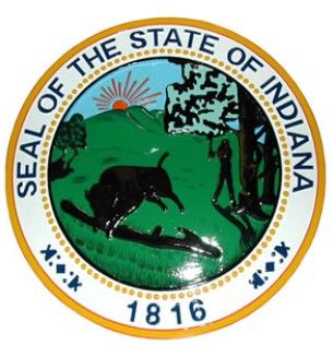 State Seal Indiana